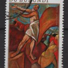 Burundi Airmail 1970 - Scott C120 used - 10 fr, Easter (Co-602)