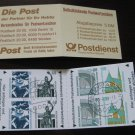 Germany 1987/96 - Scott 1530a Booklet pane of  8 CTO - Historic sites (ma-102)