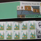 Germany 1987/96 - Scott 1530c Booklet pane of 10 Mint - 100pf, Historic sites (ma-106)