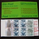 Germany 1987/96 - Scott 1528a Booklet pane of 8 CTO - Historic sites (D-674)