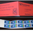 Germany 1994 - Scott 1830a Booklet pane of 10 MNH - Quantum Theory Europa (ma-109)