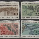 Germany 1969 - Scott 1000 ..1003 (4) MNH - Seashore, Nature protection (C-377)