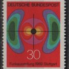 Germany 1969 - Scott 1005 MNH - 30 pf, Electromagnetic Field (Co-707)