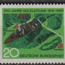 Germany 1969 - Scott 1009 MNH -  20 pf, Bride Pipe Line (Co-713)