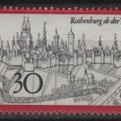 Germany 1969 - Scott 1010 MNH - 30 pf, Rothenburg (Co-715)