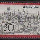 Germany 1969 - Scott 1010 MNH - 30 pf, Rothenburg (Co-715)