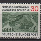 Germany 1970 - Scott 1017 MNH - 30 pf, Saar #171(K-201)