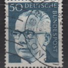 Germany 1970 - Scott 1033 used - 50 pf, Pres. G. Heinemann (Ra-517)