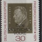Germany 1971 - Scott 1053 MNH - 30 pf, Friedrich Ebert (S-190)