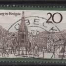 Germany 1970 - Scott 1048 used - 20 pf, Breisgau  (S-155)