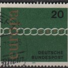 Germany 1971 - Scott 1064 used - 20pf, Europa (T-239)
