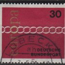 Germany 1971 - Scott 1065 used - 30pf, Europa (T-267)