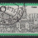 Germany 1971 - Scott 1067 used - 20pf, View of Goslar (S-377)