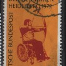 Germany 1972 - Scott 1092  used - 40pf, Heidelberg games for the Paralyzed (5 - 265)