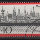 Germany 1973 - Scott 1107 used - 40 pf, Hamburg Harbor (2 - 64)