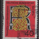 Germany 1973 - Scott 1117 used - 40 pf, R for Roswitha (2-479)