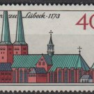 Germany 1973 - Scott 1125 used - 40pf, Lubeck Cathedral  (u-233)