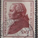 Germany 1974 - Scott 1144 usec - 90pf, Immanuel Kant (W-72)