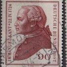 Germany 1974 - Scott 1144 usec - 90pf, Immanuel Kant (W-72)