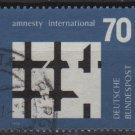 Germany 1974 - Scott 1150 used - 70pf, Amnesty international  (2-612)