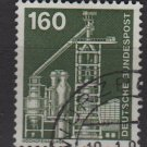 Germany 1975/82 - Scott 1185 used - 160pf, Blast furnace (3-95)