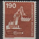 Germany 1975/82 - Scott 1187 used - 190pf, payloader   (3-96)