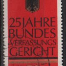 Germany 1976 - Scott 1208 used - 50pf, Federal constitution Court 25th anniv. (3-453)