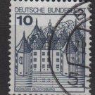 Germany 1977/79 - Scott 1231 used - 10pf, Glucksburg (C-392)