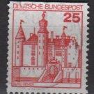 Germany 1977/79 - Scott 1233 used - 25pf, Gemen (3-527)