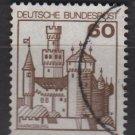 Germany 1977/79 - Scott 1237 used - 60pf, Marksburg  (3-661)