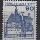 Germany 1977/79 - Scott 1239 used - 90pf, Vischerenburg (3-677)