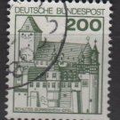 Germany 1977/79 - Scott 1240A used - 200pf, Burresheim (3-678)