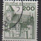 Germany 1977/79 - Scott 1240A used - 200pf, Burresheim (3-678)