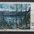 Germany 1978 - Scott 1283 used - 50pf, Impressionist painting by Lovis Corinth  (C-707)
