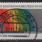 Germany 1979 - Scott 1299 used - 60pf, Einstein Nobel Prize (4-315)