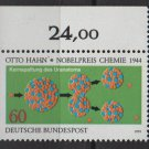 Germany 1979 - Scott 1300 MNH - 60pf, Otto Hahn Nobel Prize (4-336)