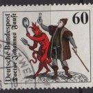 Germany 1979 - Scott 1304 used - 60pf, Doctor Johannes Faust, Mephistopheles (4-675)