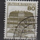 Germany 1979/82 - Scott 1312 used - 80pf, Wilhelmsthal  (L-316)
