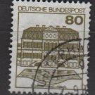 Germany 1979/82 - Scott 1312 used - 80pf, Wilhelmsthal  (L-316)