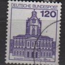 Germany 1979/82 - Scott 1313 used - 120pf, Charlottenburg (P-540)