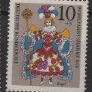 Germany 1971 -Scott B467 MNH- 10pf + 5pf, Rococo Angel, Christmas (T-695)