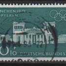 1970 - Scott B460 used - 20 + 10 pf, Olympic Games Munich  (7-91)