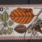 Germany 1979 - Scott B565 used- 40pf + 20pf , Woodland plants (5-48)