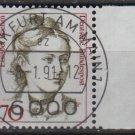 Germany 1986/91 - Scott 1482 CTO - 70 pf, Famous women, Elisabet Boehm  (11-420)