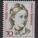 Germany 1986/91 - Scott 1482 MNH - 70 pf, Famous women, Elisabet Boehm  (11-475)