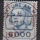 Germany 1986/91 - Scott 1488 CTO - 150 pf, Famous women, Sophie Scholl  (11-624)