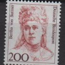 Germany 1986/91 - Scott 1491 MNH- 200 pf, Famous women, Bertha von Suttner(11-636)