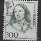 Germany 1986/91 - Scott 1493a used- 300 pf, Famous women,  Fanny Hensel (11-637)