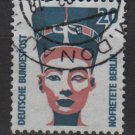 Germany 1987/96 - Scott 1517 used - 20pf, historic sites & objects, Queen Nefertiti (11-641)
