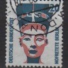 Germany 1987/96 - Scott 1517 used - 20pf, historic sites & objects, Queen Nefertiti (11-641)